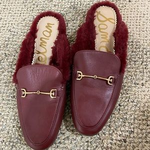 San Edelman loafers size 7 with plush
